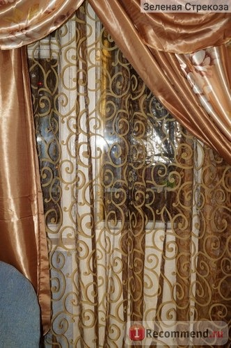 Шторы Aliexpress Fashion curtain quality finished sheer double faced flock curtains фото